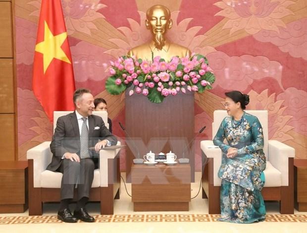 Republica Checa: prioridad de Vietnam en nexos con Europa Central y Oriental hinh anh 1