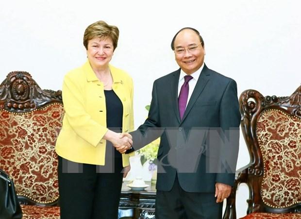 Premier destaca aporte de Banco Mundial a desarrollo de Vietnam hinh anh 1