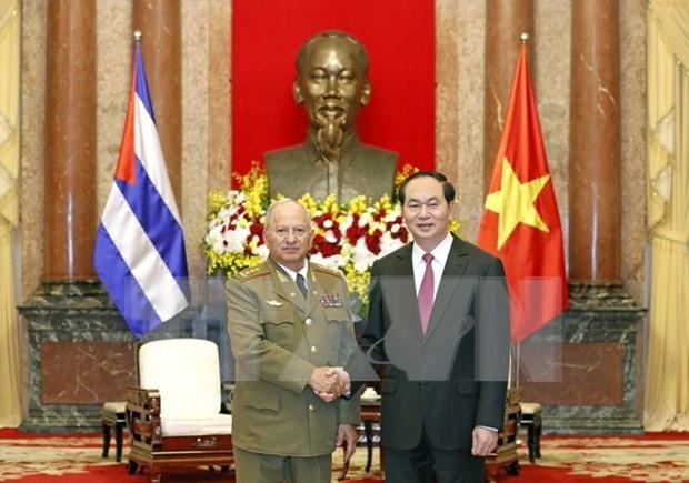 Vietnam esta al lado de Cuba en cualquier situacion, afirma presidente Dai Quang hinh anh 1