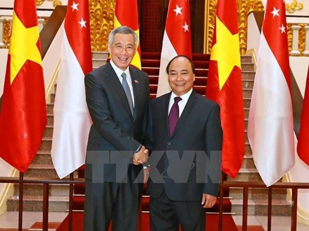 Corroboran nexos multifaceticos Vietnam – Singapur hinh anh 1