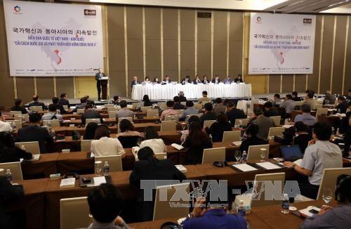 Foro de Asia Oriental abre oportunidades de cooperacion Vietnam-Sudcorea hinh anh 1