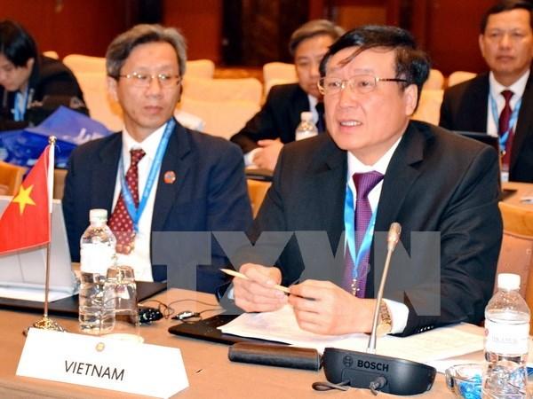 Vietnam contribuye activamente a reunion de jefes de Justicia de ASEAN hinh anh 1