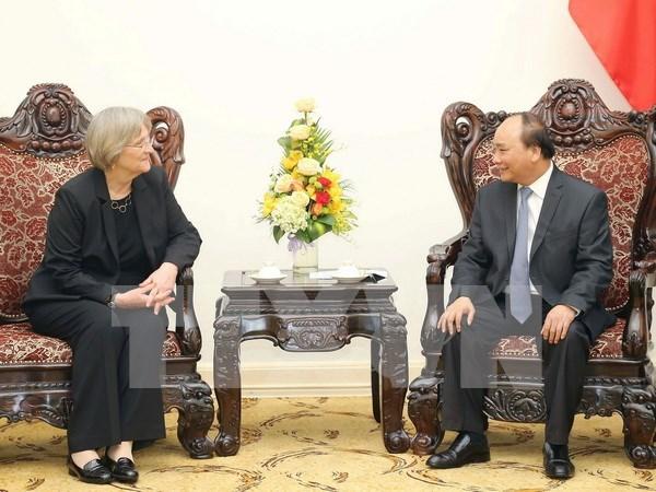 Premier vietnamita aboga por aumentar cooperacion con Universidad de Harvard hinh anh 1