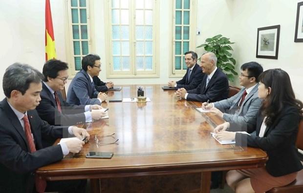 Vietnam y OMPI estrechan cooperacion en proteccion de propiedad intelectual hinh anh 1