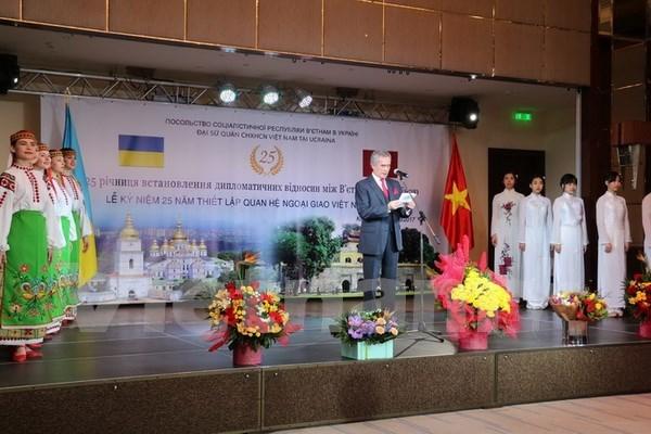 Vietnam y Ucrania fortalecen relaciones integrales hinh anh 1