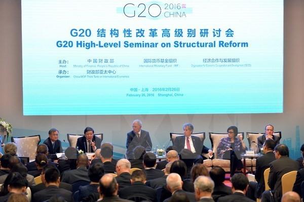Vietnam contribuye activamente a Reunion de Sherpas del G-20 hinh anh 1