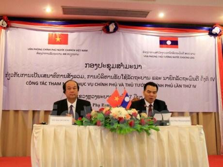 Fortalecen cooperacion intergubernamental Vietnam-Laos hinh anh 1
