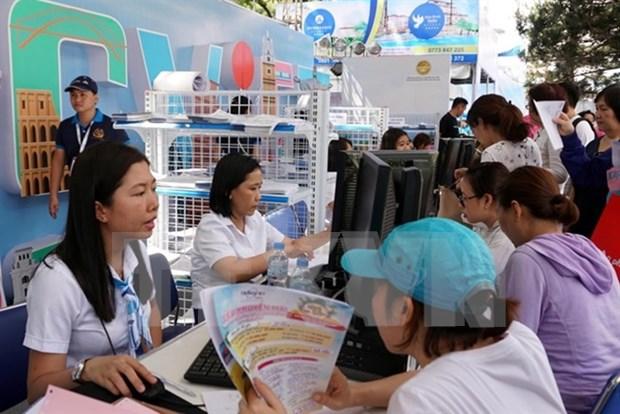 Festival de Turismo de Ciudad Ho Chi Minh atrajo a 350 mil turistas hinh anh 1
