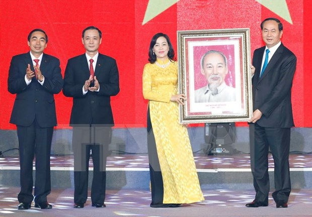 Presidente vietnamita urge a provincia de Ninh Binh a renovar modelo de crecimiento hinh anh 1