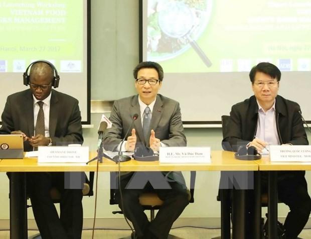 Publican informe sobre gestion de riesgo de seguridad alimentaria en Vietnam hinh anh 1