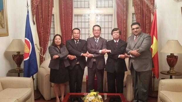 Paises de ASEAN en Buenos Aires robustecen cooperacion hinh anh 1
