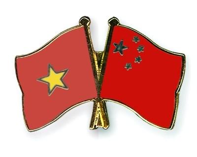 Organizaciones de masas de Vietnam y China comparten experiencias hinh anh 1