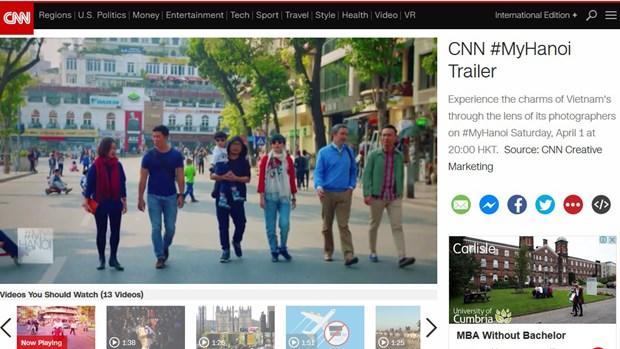 CNN lanza avance de documental sobre Hanoi hinh anh 1
