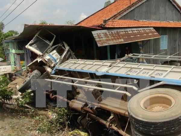 Disminuyen accidentes de trafico en Vietnam en primer trimestre de 2017 hinh anh 1
