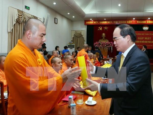 Pagodas vietnamitas en Tailandia ayudan a conectar las dos culturas hinh anh 1