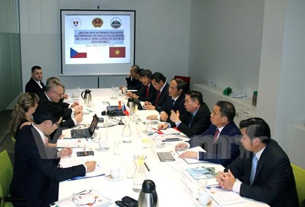 Estimulan inversion de Republica Checa en provincia altiplanica de Vietnam hinh anh 1