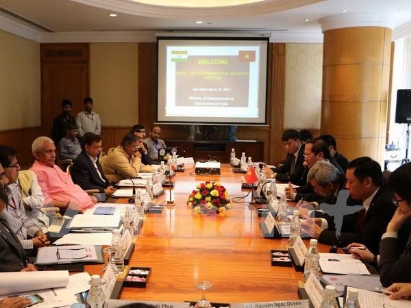 Vietnam e India promueven cooperacion en telecomunicaciones hinh anh 1