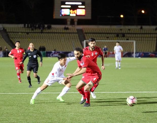 Vietnam empata con Afganistan en eliminatoria para Copa Asiatica 2019 hinh anh 1