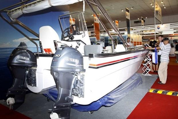 Inauguran en Vietnam mayor exposicion de la industria maritima hinh anh 1