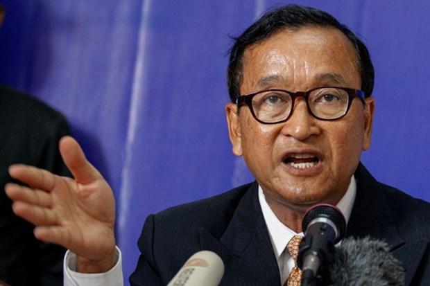 Tribunal de Camboya condena a prision a exlider del partido opositor hinh anh 1