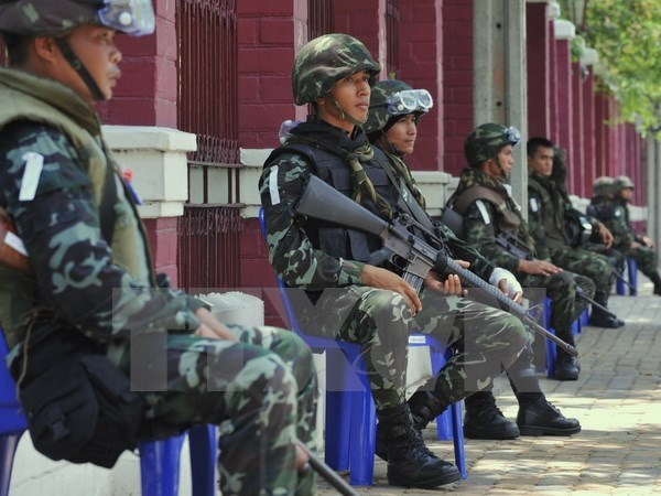 Un muerto y tres heridos en ataque a comisaria en el sur de Tailandia hinh anh 1
