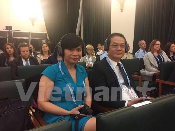 Vietnam asiste a Conferencia Internacional sobre Escuelas Seguras en Argentina hinh anh 1