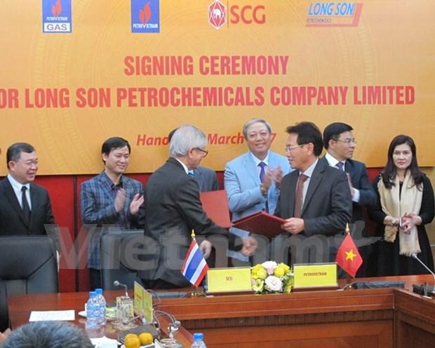 Firman contratos relacionados con grandes proyectos petroquimicos en Vietnam hinh anh 1