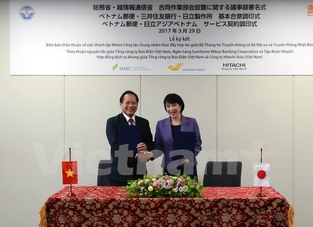 Vietnam busca mayor cooperacion con Japon en informacion y comunicacion hinh anh 1