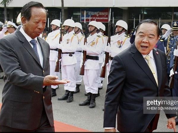 Ejercitos de Tailandia y Camboya instalaran linea telefonica directa hinh anh 1