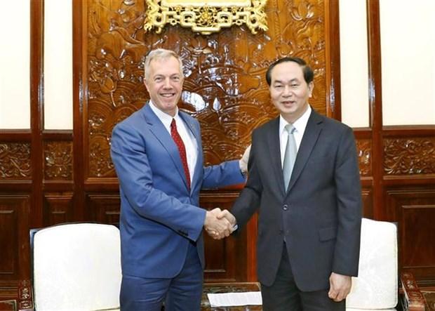 Vietnam y Estados Unidos robustecen asociacion integral hinh anh 1