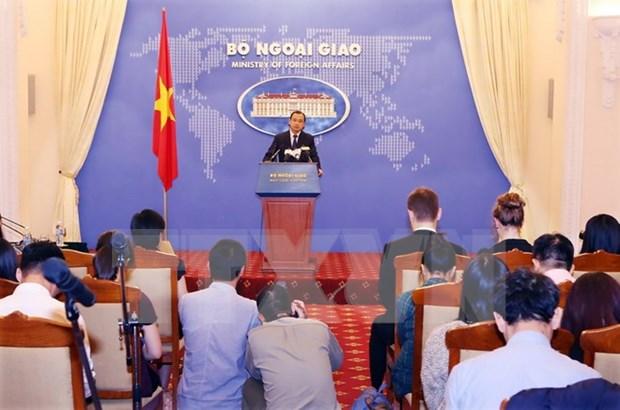 Cancilleria vietnamita designa a nueva vocera hinh anh 1