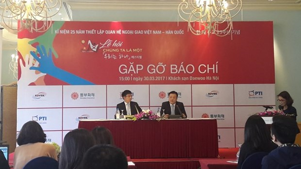 Seul acogera festejo conmemorativo de nexos diplomaticos Vietnam-Sudcorea hinh anh 1