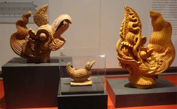 Tesoros arqueologicos de Vietnam continuan impresionando a publico aleman hinh anh 1