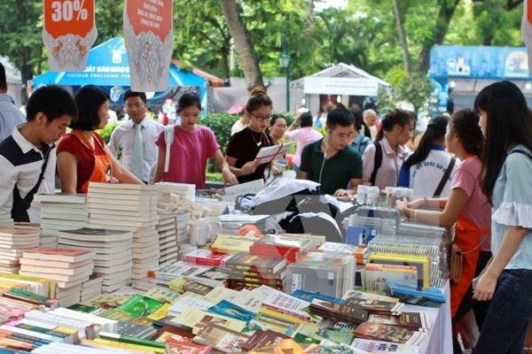 Presentaran en Hanoi mas de 40 mil titulos en el Dia del Libro hinh anh 1