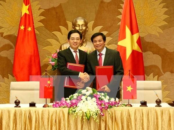 Asamblea Nacional de Vietnam recibe obsequio del gobierno chino hinh anh 1