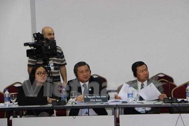 Vietnam subraya igualdad de genero durante reunion de Comite Ejecutivo de IPU hinh anh 1
