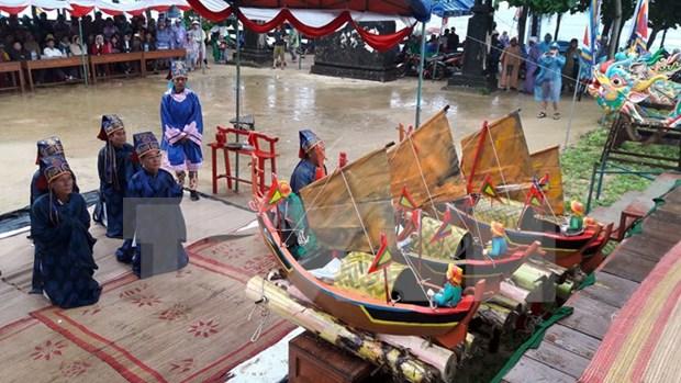 Celebran ritual dedicado a flotilla protectora de Hoang Sa hinh anh 1