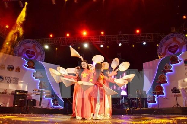Paises de ASEAN presentan identidades culturales en evento benefico en Camboya hinh anh 1