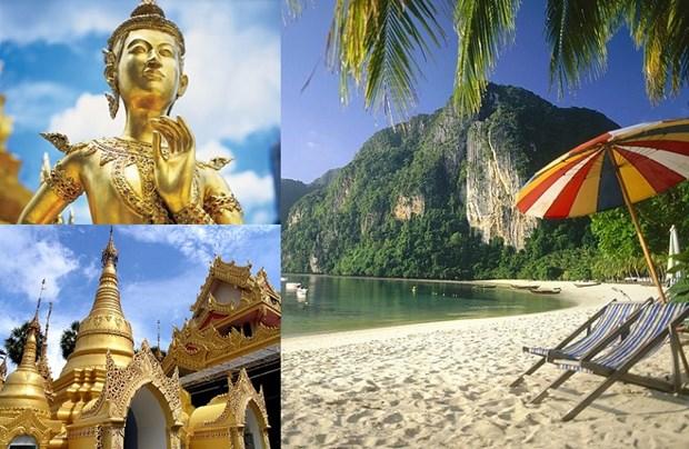 Tailandia espera lograr meta turistica de 20 mil 900 millones de dolares hinh anh 1
