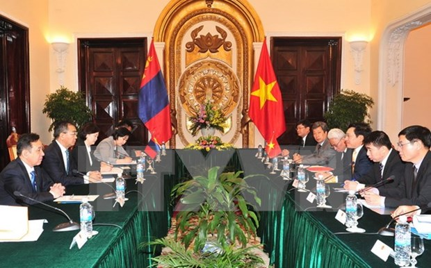 Vietnam y Mongolia apuestan por incrementar nexos de amistad hinh anh 1