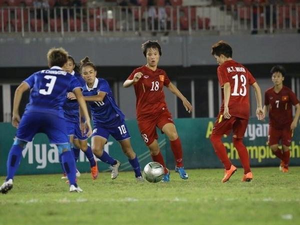 Vietnam busca clasificarse para fase final de Copa Asiatica de futbol femenino hinh anh 1