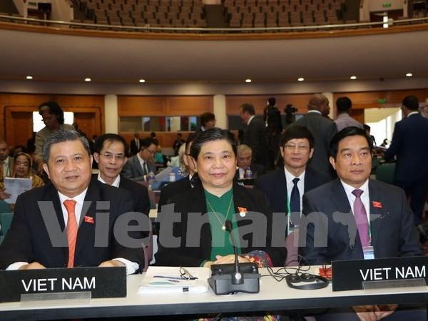 Vietnam continua actividades en Asamblea 136 de la Union Interparlamentaria hinh anh 1