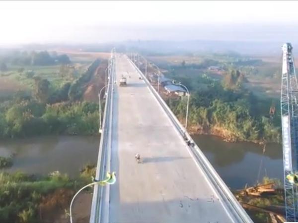 Inician construccion de puente de amistad entre Tailandia y Myanmar hinh anh 1
