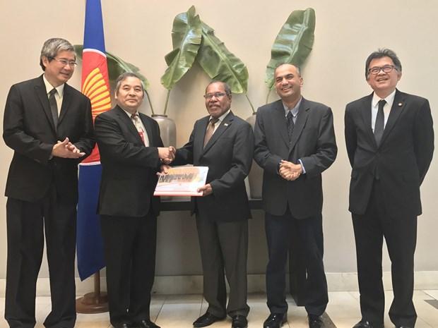Vietnam promueve actividades de la ASEAN en Chile hinh anh 1