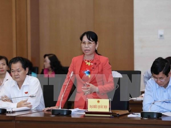 Diputados de Vietnam analizan enmiendas de leyes hinh anh 1