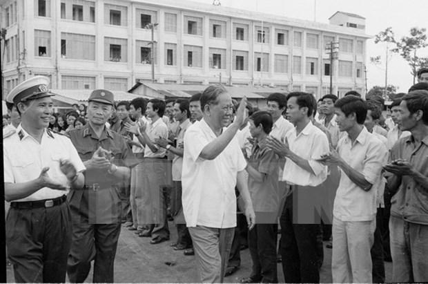 Autoridades de Ciudad Ho Chi Minh rinden tributo a exsecretario general del PCV hinh anh 1