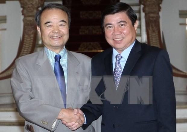 Ciudad Ho Chi Minh y prefectura japonesa de Aichi impulsan cooperacion hinh anh 1