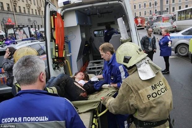 Vietnam expresa condolencias a Rusia por atentado en metro de San Petersburgo hinh anh 1