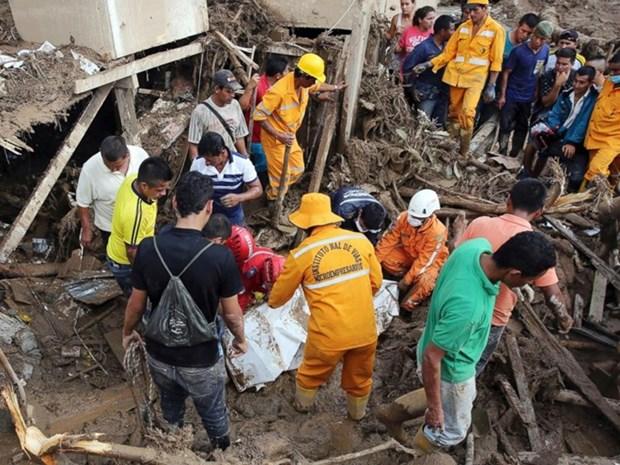 Vietnam se solidariza con Colombia y Peru tras desastres naturales hinh anh 1