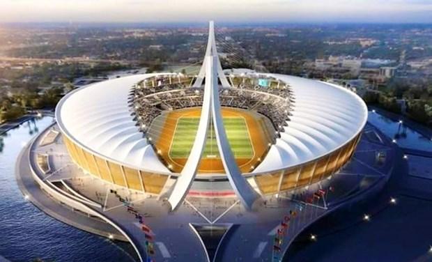 Camboya inaugura complejo deportivo como preparacion para SEA Games 32 hinh anh 1